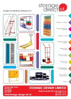 Storage Direct Catalogue from Storage Design Limited Linbins, Lispace Apex Pallet Racking
